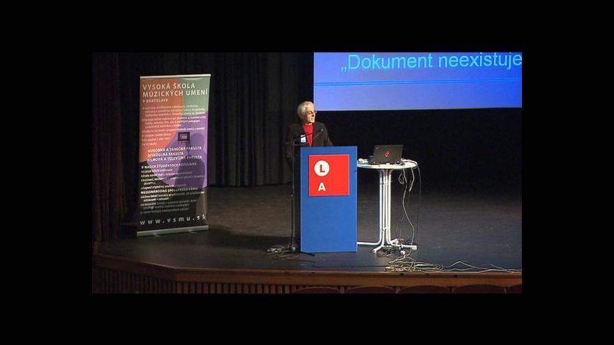 Video ČT jako partner mezinárodní konference