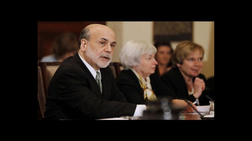 Video V čele centrální banky USA poprvé stane žena