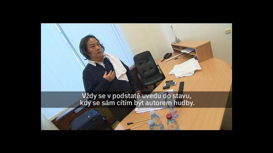 Video V Praze diriguje Muhai Tang
