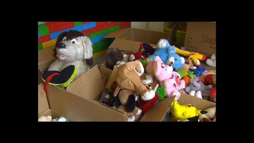 Video Kristina Vrkočová o sbírce hraček