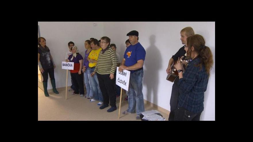 Video Blanka Poulová o stacionáři v Jihlavě