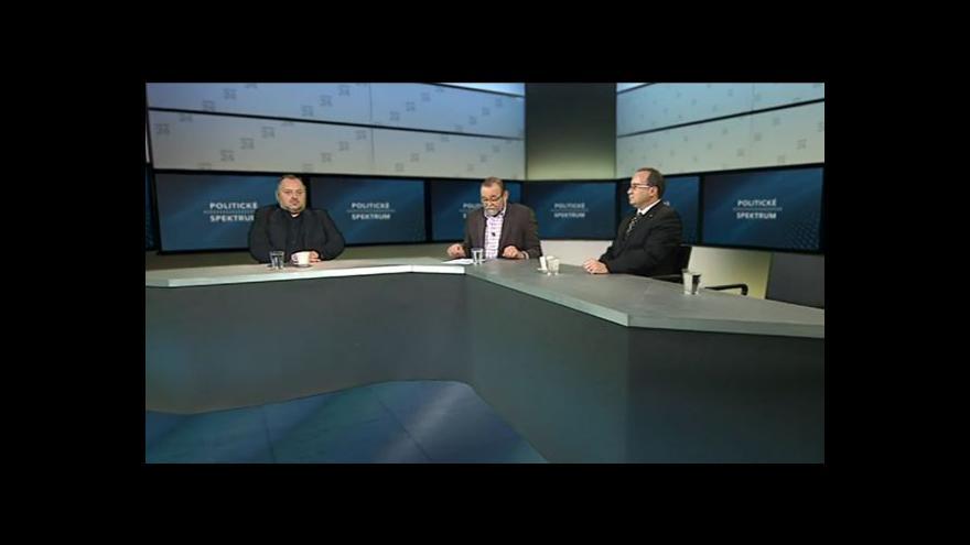 Video Politické spektrum s Tomášem Vandasem a Rostislavem Senjukem