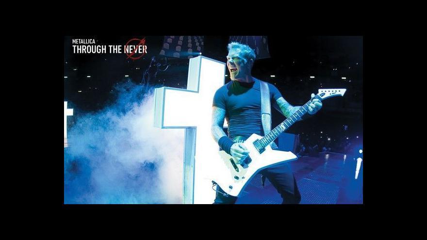 Video Metallica natočila první koncertní 3D film
