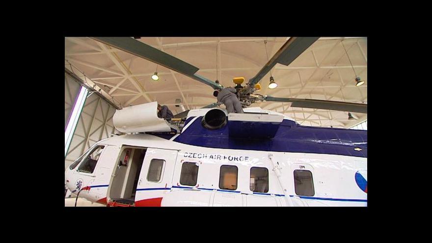 Video Nový vládní vrtulník v Událostech