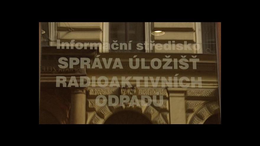 Video Zdeněk Mlnařík o úložištích radioaktivního odpadu
