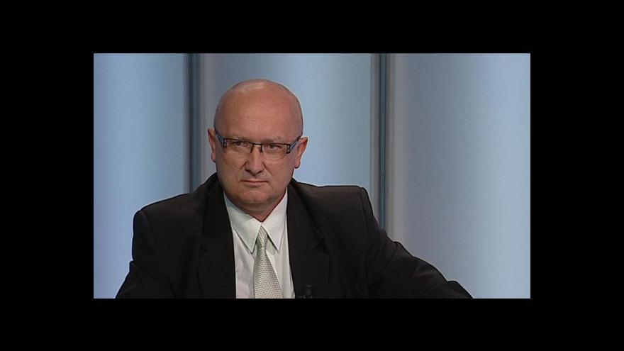 Video Vladimír Velčovský hostem Studia ČT24