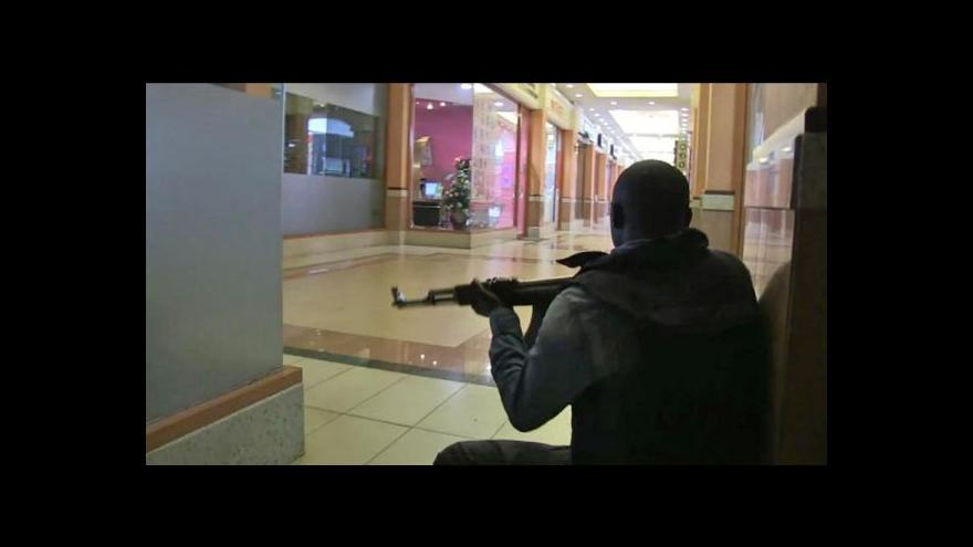 Video Milice Šabáb přiznaly odpovědnost za útok v Keni