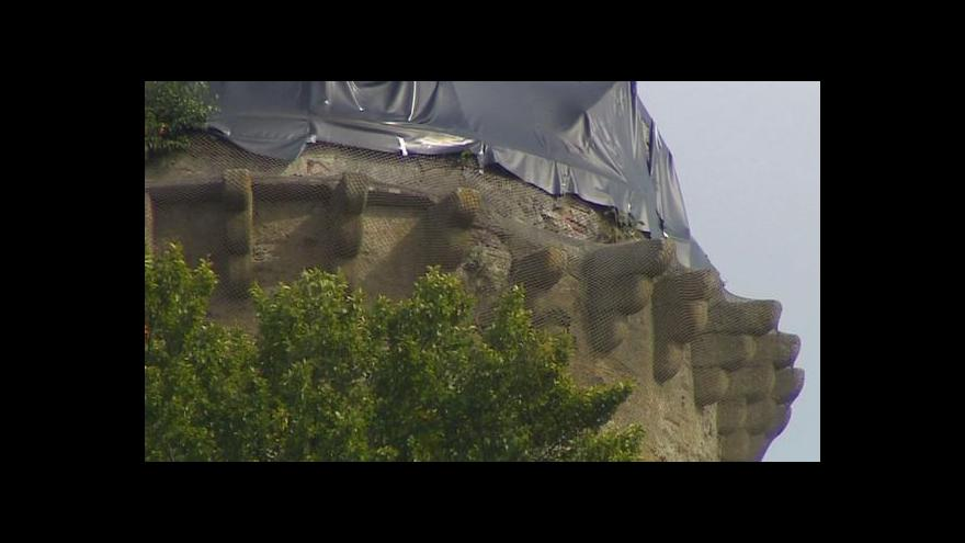 Video Oprava věže Jakobínky