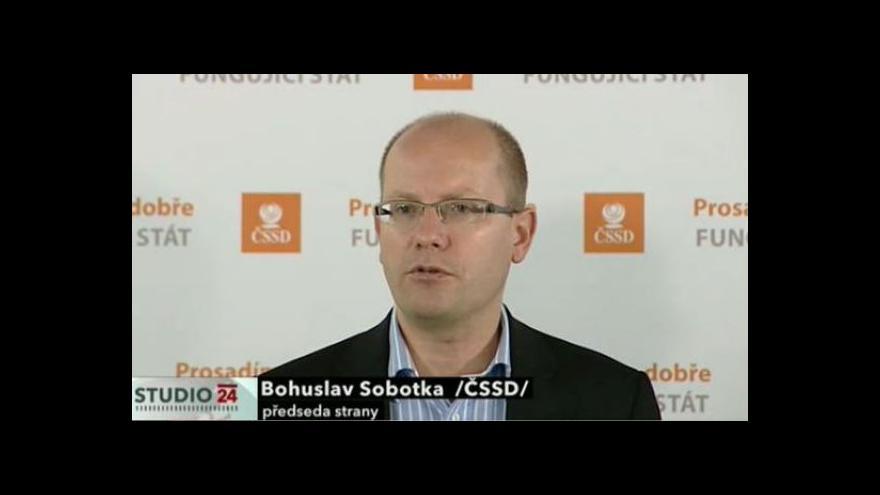 Video Brífink ČSSD k řešení situace v OKD, valorizaci penzí a dalším tématům