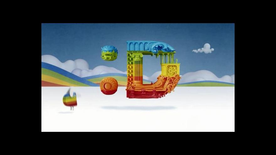 """Video UKÁZKA: Logo ident """"Michelangelo"""""""