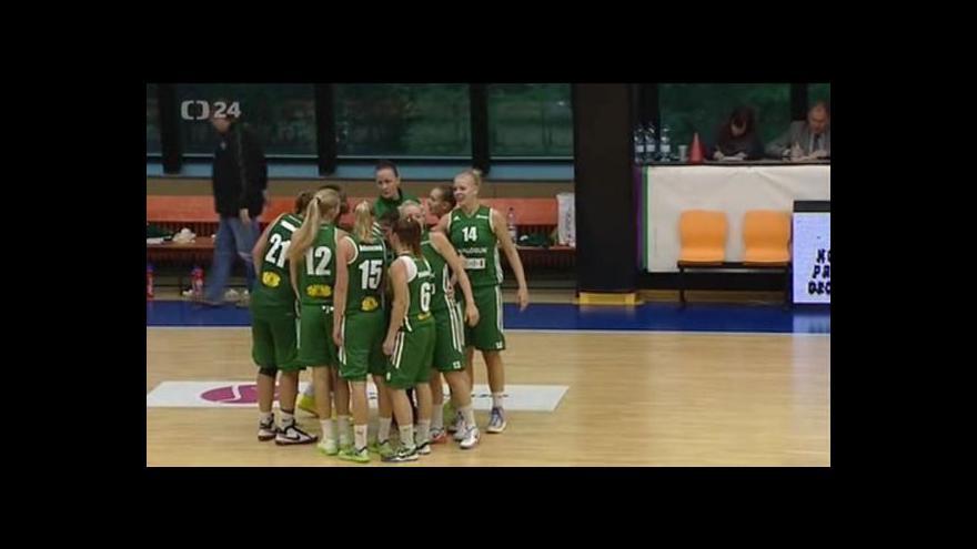 Video Odstartovala ženská basketbalová liga