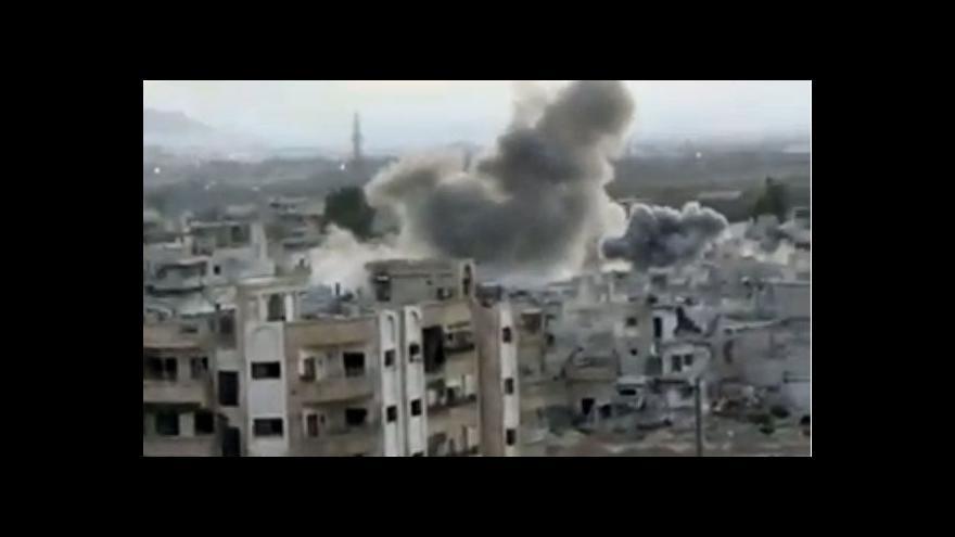 Video Sýrie odevzdala seznam chemických zbraní