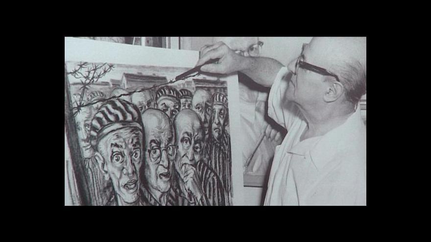 Video David Friedmann vystavuje v Ostravě