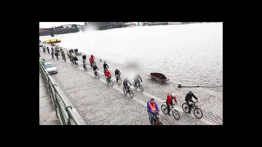 Video Marie Frajtová o studentské cyklojízdě