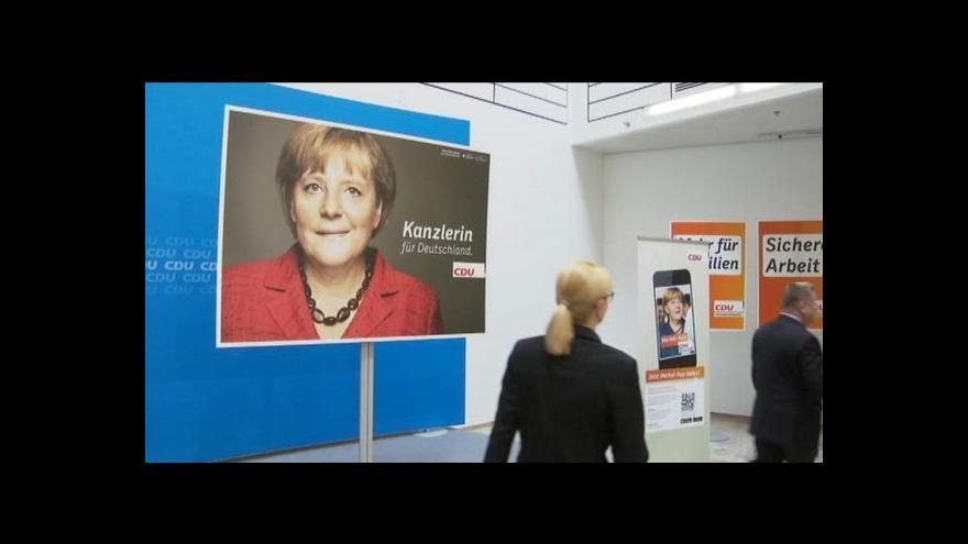 Video Parlamentní volby v Německu