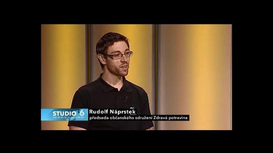 Video Rudolf Náprstek hostem Studia 6