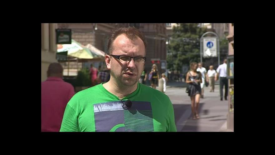 Video Hovoří odborník na extremismus Miroslav Mareš