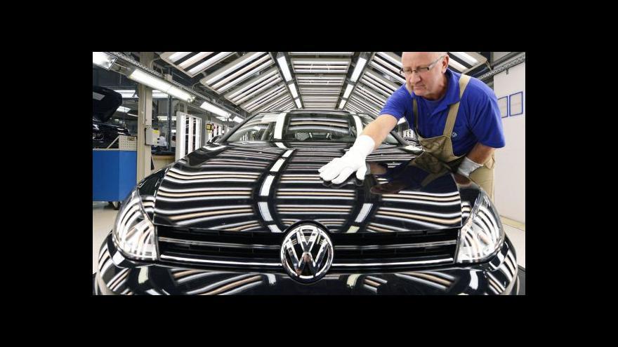 Video Ekonomika ČT24 o prodeji aut