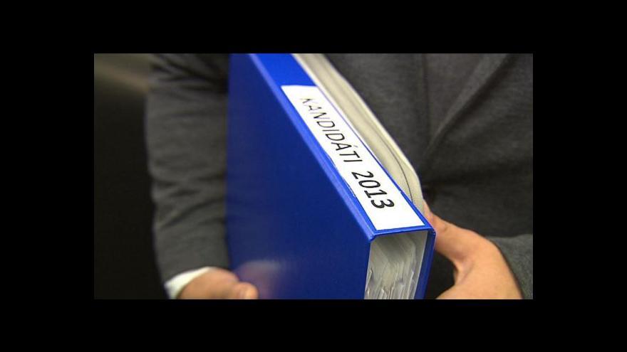 Video Do voleb se zatím přihlásilo 18 politických uskupení