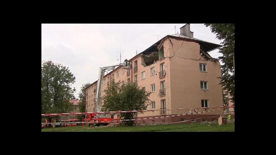 Video Radek Wiglasz o situaci po výbuchu v Havířově