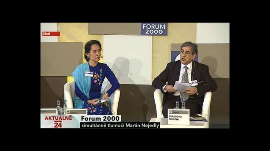 Video Projev Su Ťij na Fóru 2000