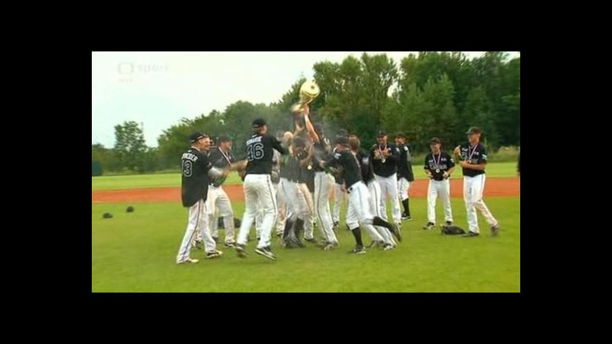 Video Reportáž ze baseballového zápasu Kotlářka - Draci Brno