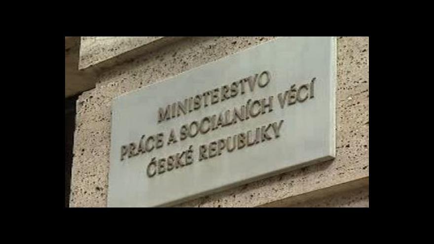 Video NKÚ zjistil v účetní závěrce MPSV chyby ve výši 11 miliard
