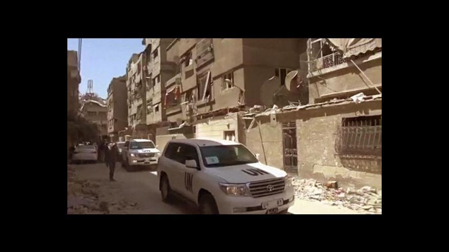 Video Zprávu o chemickém útoku dostane na stůl Rada bezpečnosti
