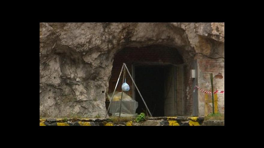 Video Štramberskými štolami zněly v sobotu výbuchy