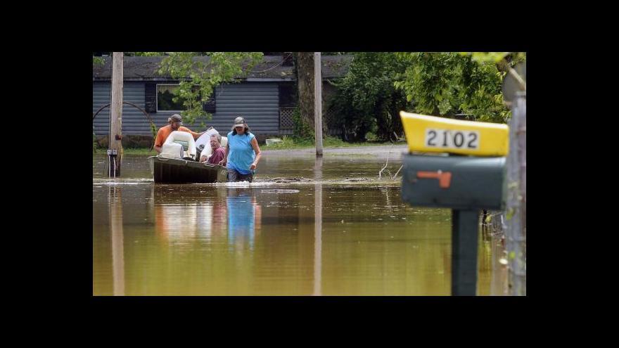 Video Záplavy v Coloradu