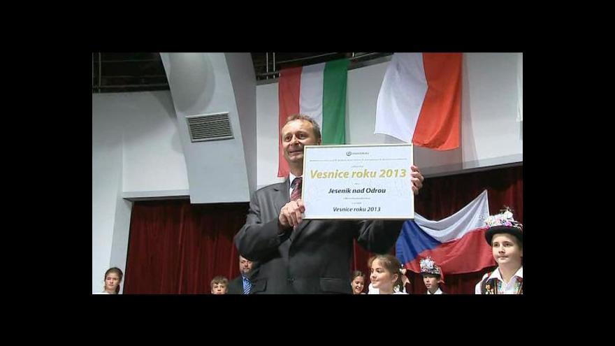 Video Vyhlášení Vesnice roku 2013