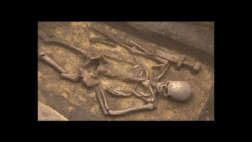 Video Archeologové na dně přehrady