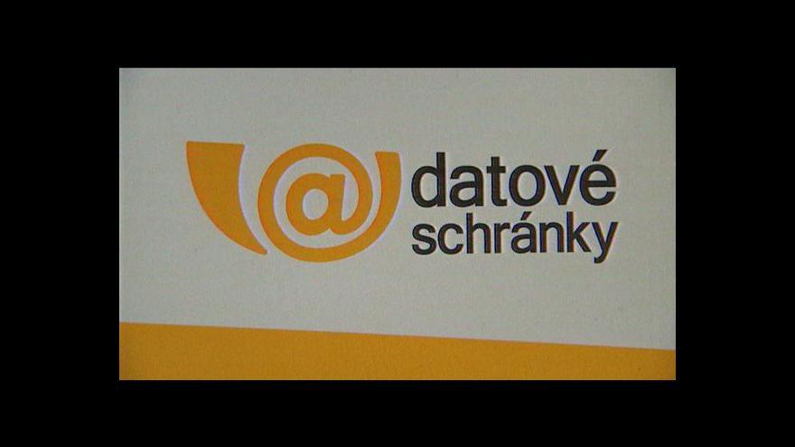 Video Datové schránky pro živnostníky příští rok povinné nebudou
