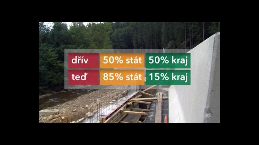 Video Lucie Pokorná o rekonstrukci silnic na Liberecku