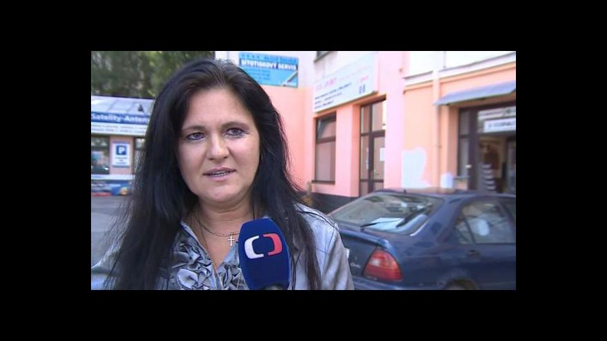 Video Lenka Filipi popisuje dražbu domu v centru Brna