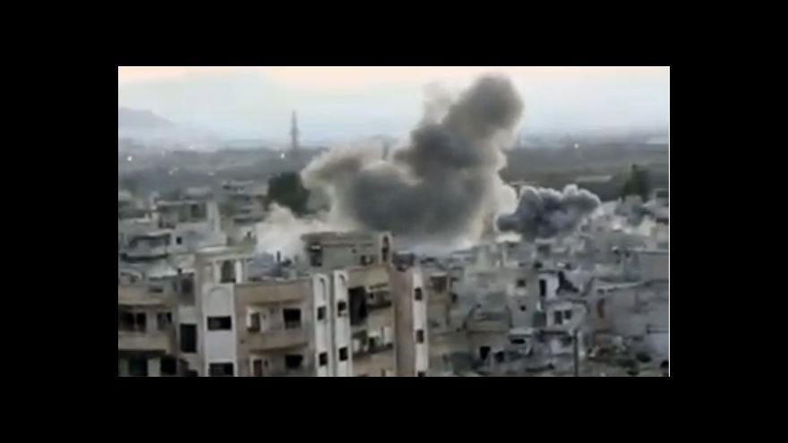 Video Události o situaci v Sýrii