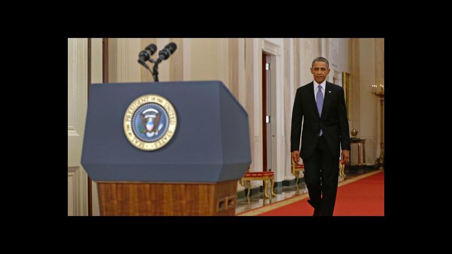 Video Události: Obama s intervencí do Sýrie počká