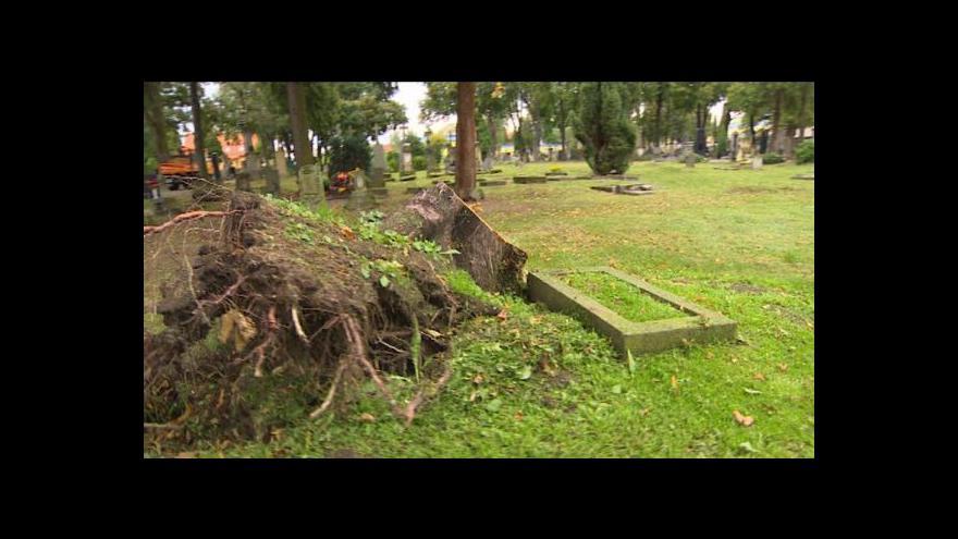 Video Michal Klokočník o následcích vichřice v Chrudimi
