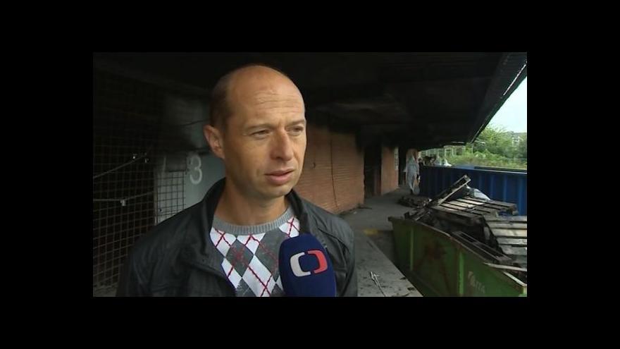 Video Vyklízení popisuje zástupce uživatele skladu Bohuslav Komín