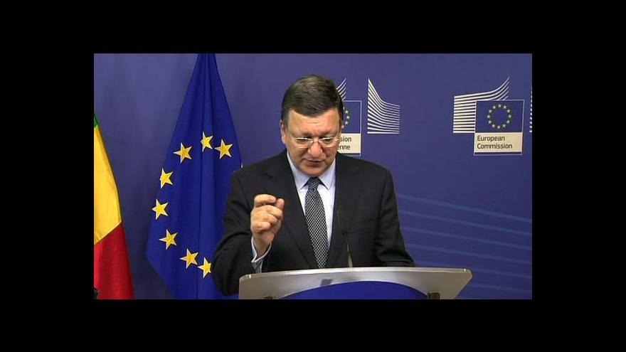 Video Předseda EK Barroso o stavu EU