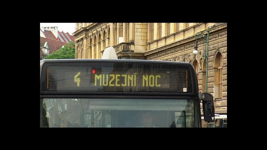 Video Události v kultuře o Pražské muzejní noci