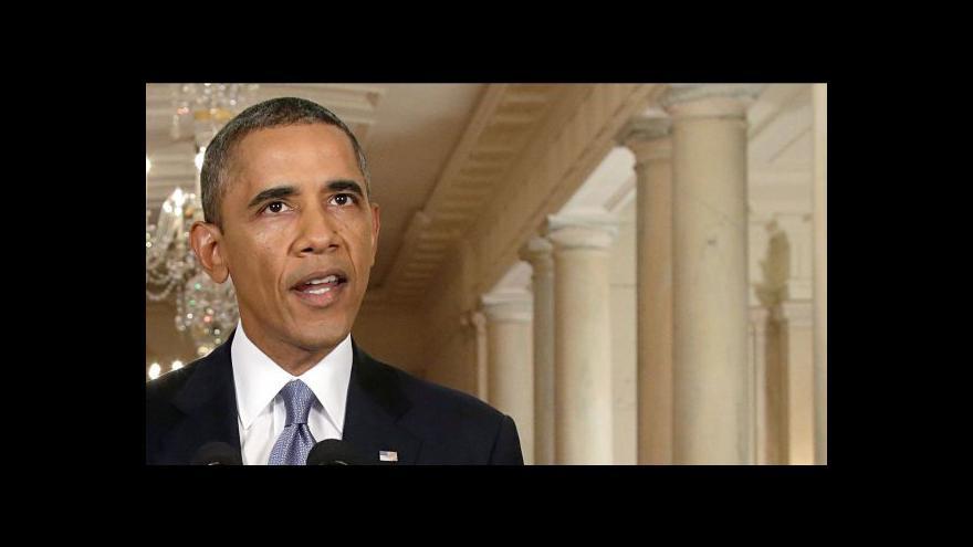 Video Obama se bude snažit o diplomatické řešení