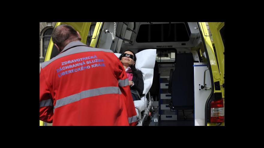 Video Rozhovor s mluvčí pražské záchranky Jiřinou Ernestovou