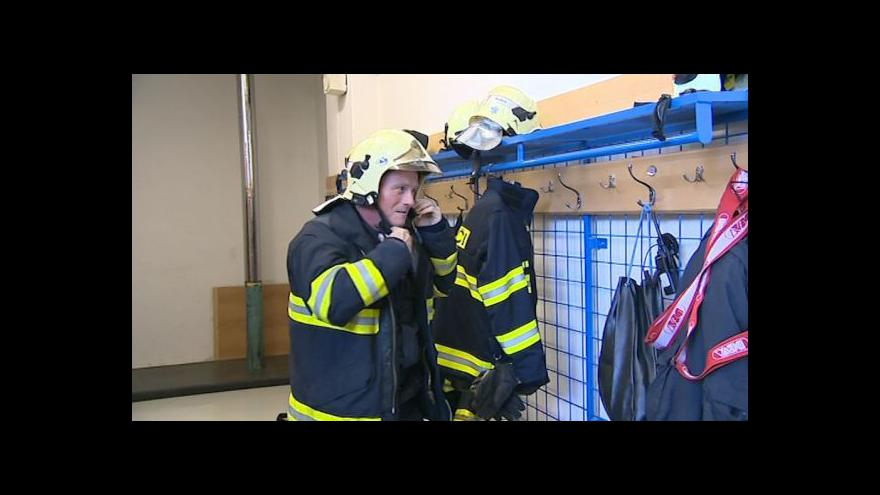 Video O nové hodinové sazbě hasičů hovoří mluvčí HZS ZK Libor Netopil
