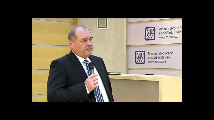 Video Brífink MPSV  ke koncepci prevence a řešení bezdomovectví do r. 2020