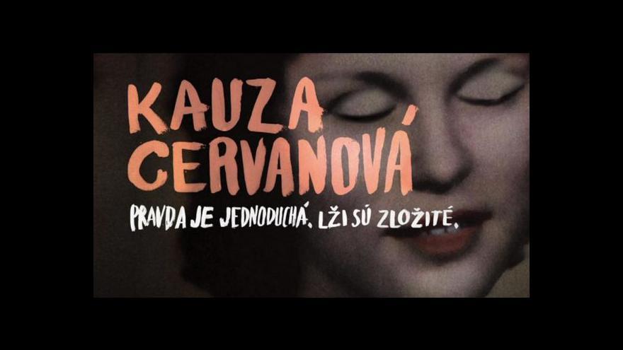 Video Kontroverzní dokument o znásilnění a vraždě Ludmily Cervanové jde do kin