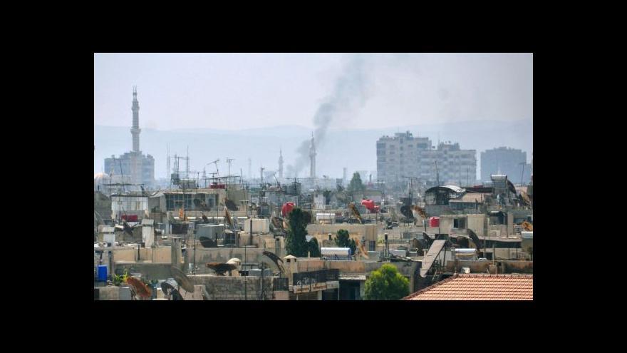 Video Zprávy ve 12:00 o situaci v Sýrii