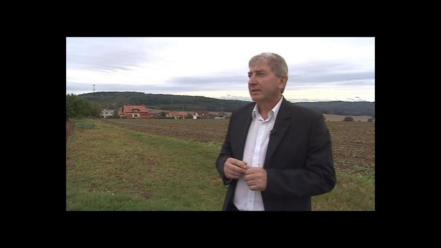 Video O problémech s výstavbou hovoří starosta Nebovid Milan Mojžíš