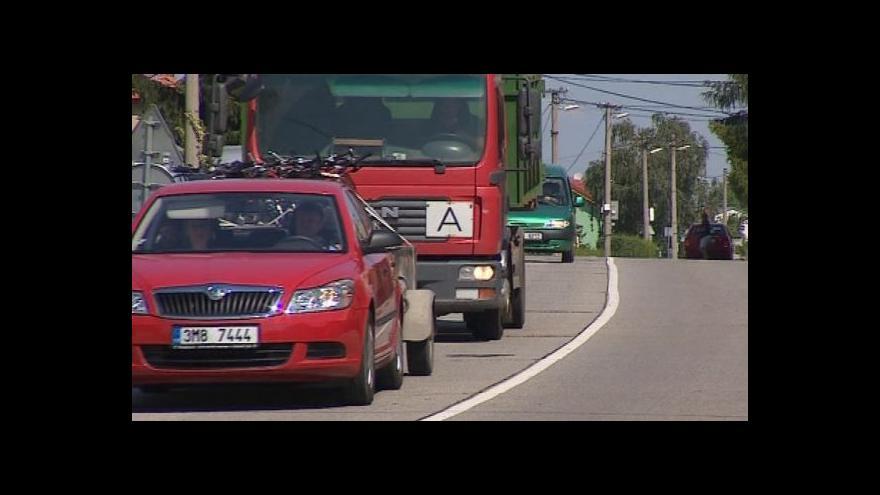 Video Doprava v kraji tématem UvR