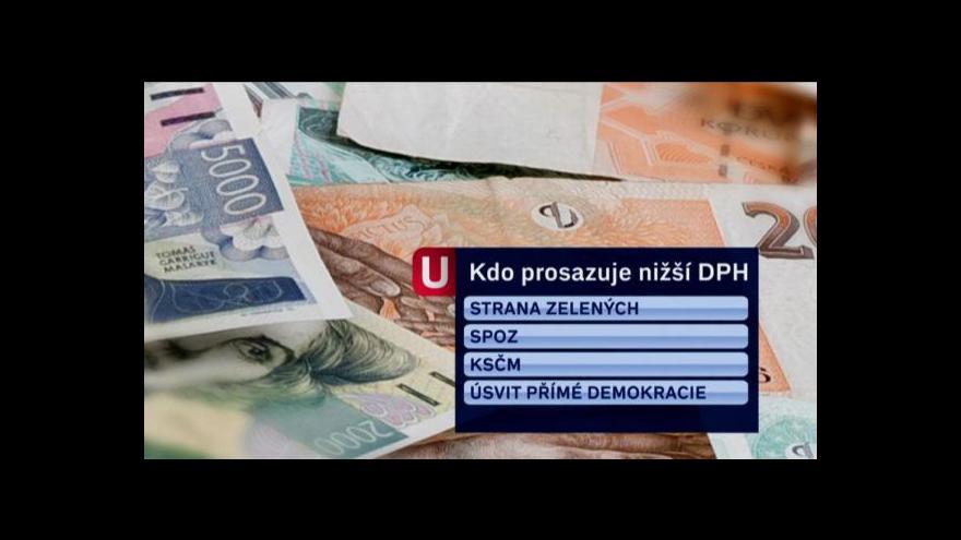Video Rýsují se nižší sazby DPH?